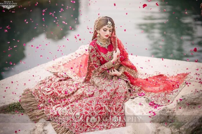 Bridal Photo Shoot of Beautiful Actress Zubab Rana