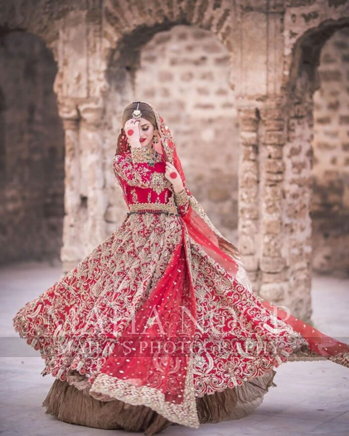 Images for Bridal Photo Shoot of Zubab Rana