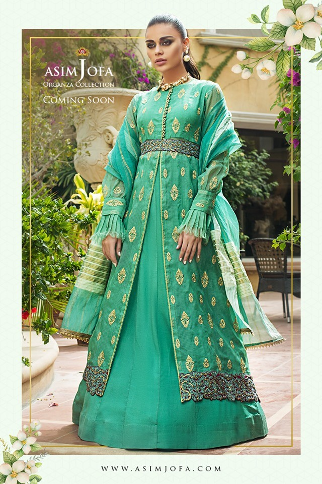 asim jofa luxury lawn dress design 2020
