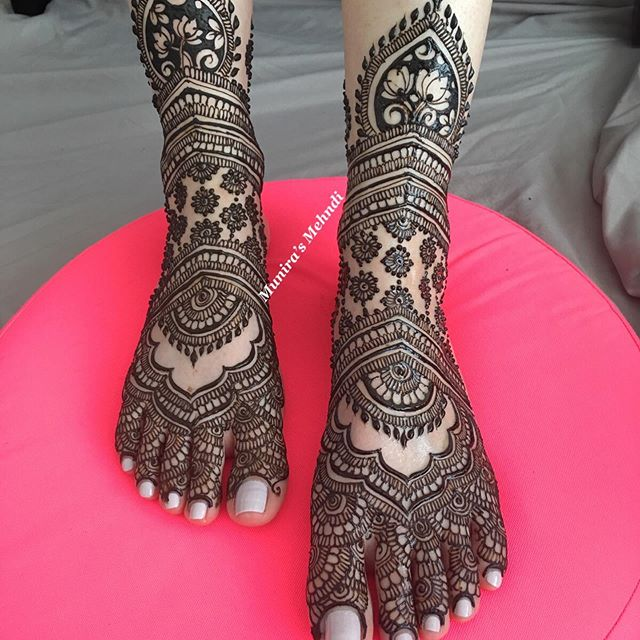 mehndi designs for feet easy and simple