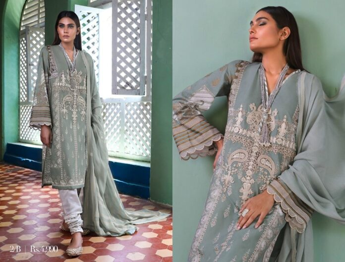sana-safinaz-Muzlin-collection-2020-green-lawn-shirt