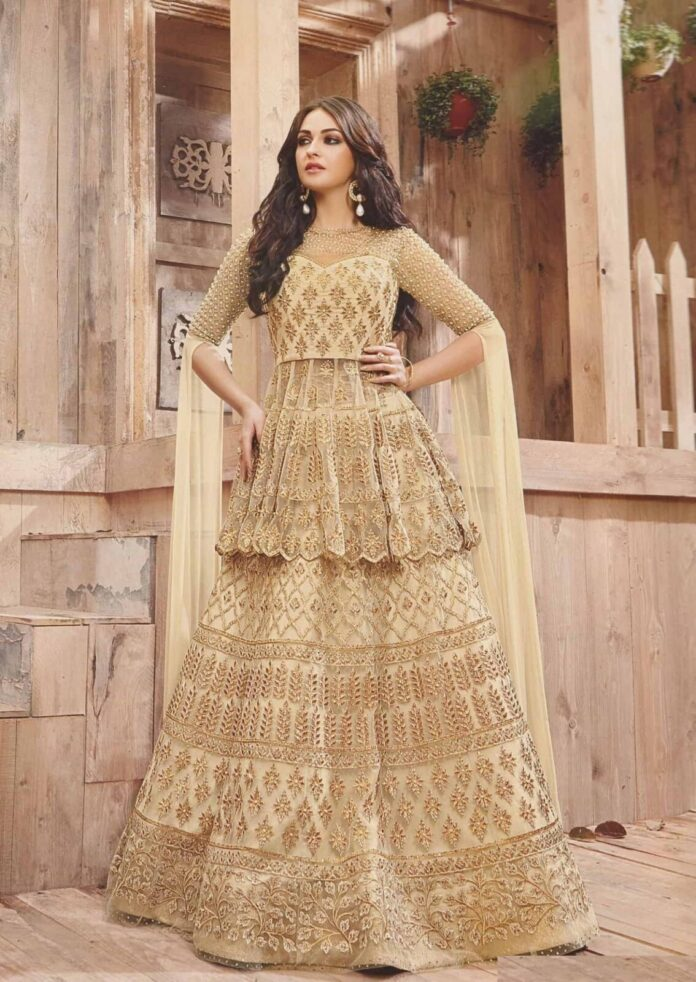 beige-gold-bridal-lehenga-choli-and-sharara