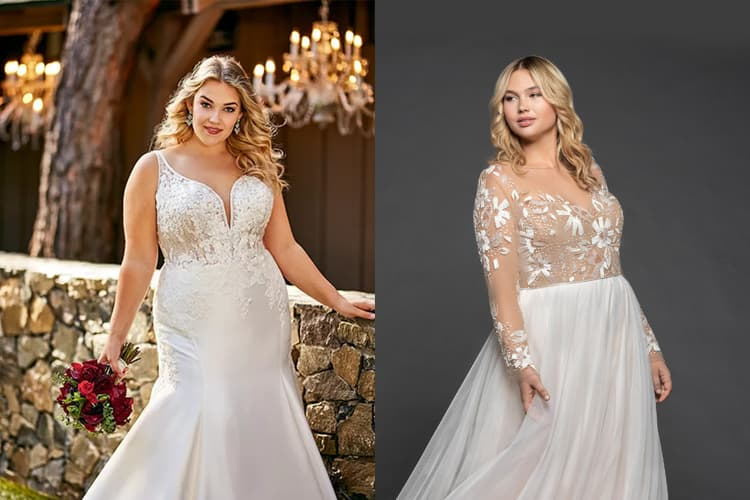 Best Wedding Dresses 2020 For Plus Size Brides - Latest ...