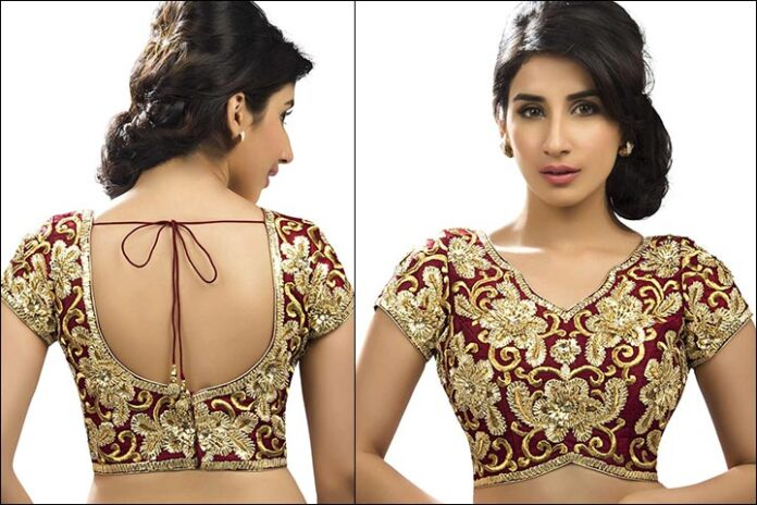 Best Blouse Back Neck Designs 2020 Front Back For Sarees