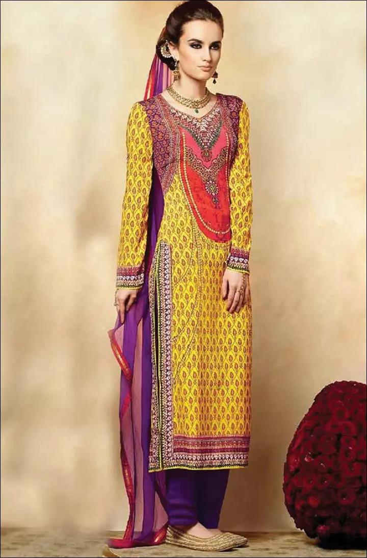 Round-Neckline-For-Churidars