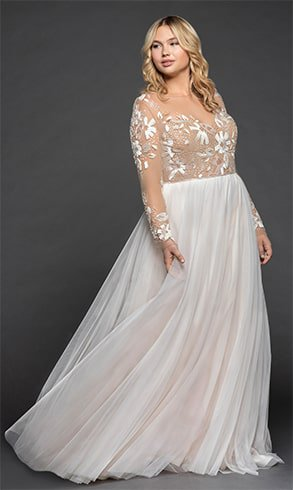 a-line-gown-with-illusion-floral-beaded-bodice