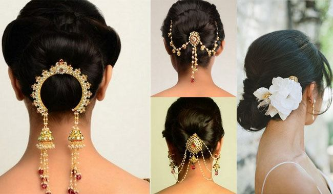bridal-hairstyles-for-short-hair-indian