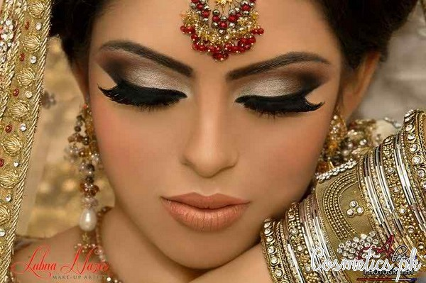 indian-bridal-makeup-brown-eyes