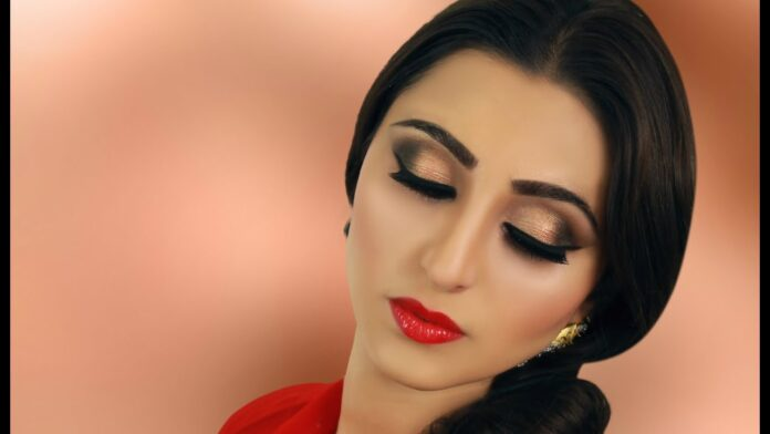 indian-bridal-makeup-smokey-eye