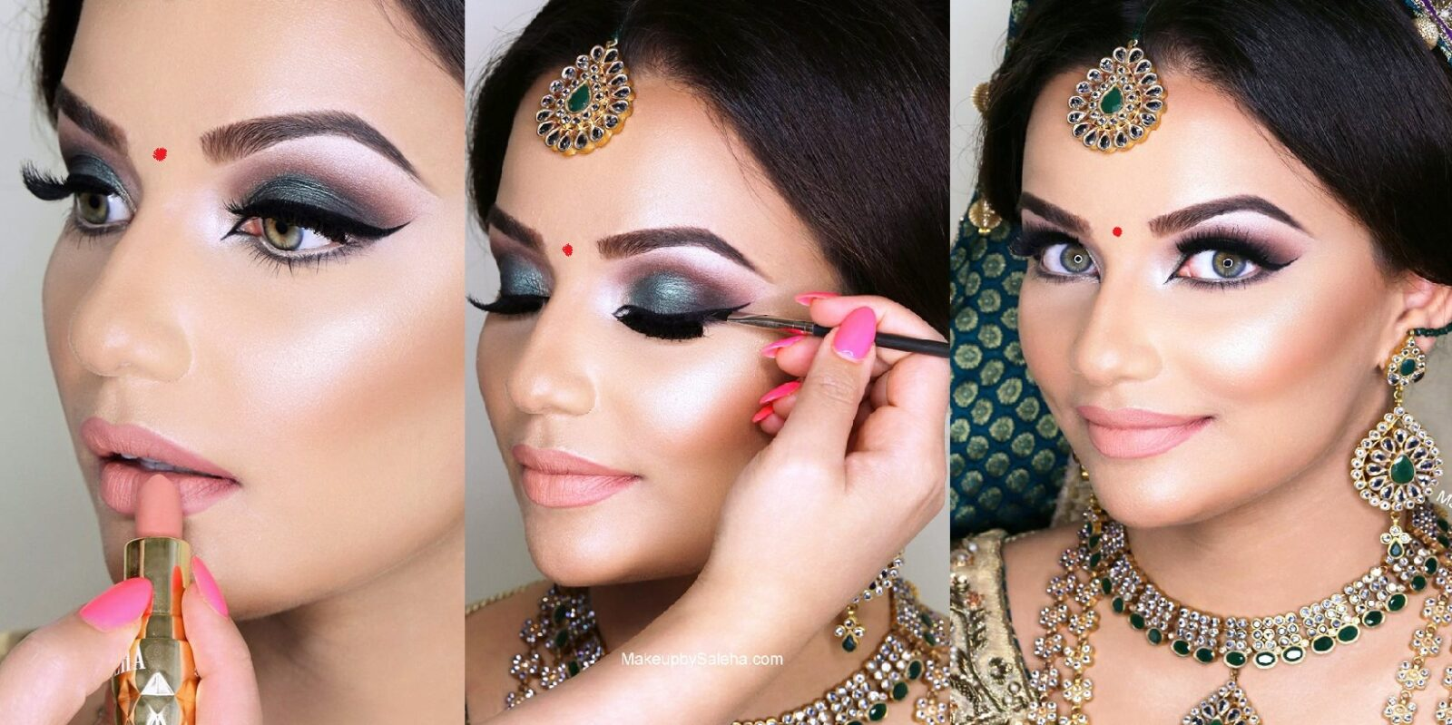 indian-bridal-smokey-eye-makeup