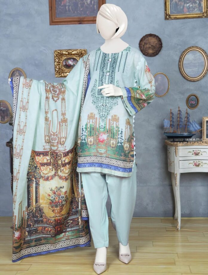 khas-lawn-embroidered-dress
