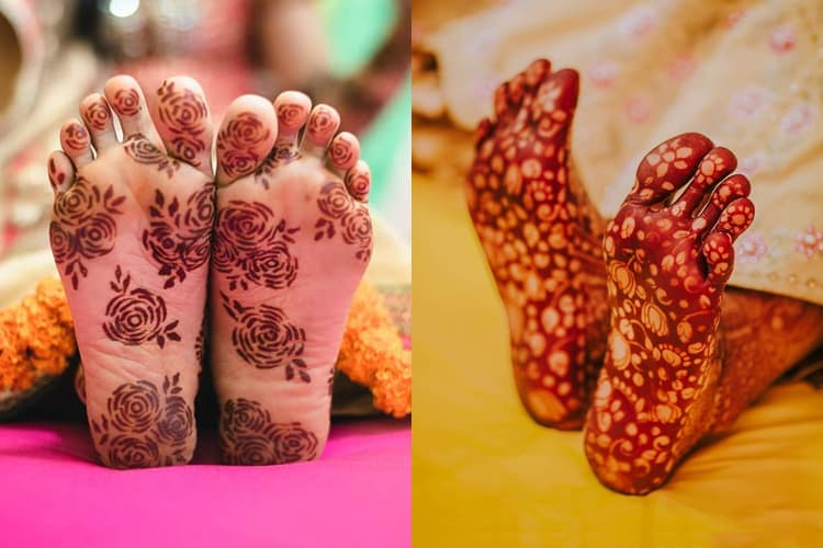 mehndi-designs-on-the-sole-of-foot