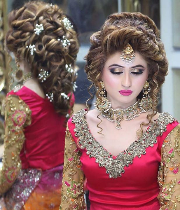 pakistani-bridal-makeup and-hairstyle