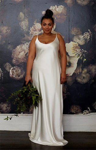 silk-charmeuse-bias-gown-with-gathered-train