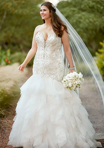 strapless-beaded-bodice-with-textured-skirt