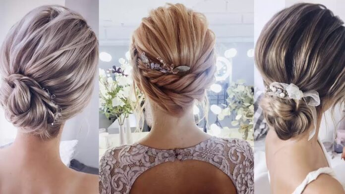 Best Beautiful Bridal Hairstyles 2020 For Short Hair Women
