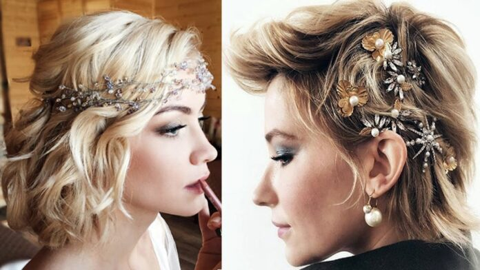 wedding-hairstyles-for-short-hair-braid