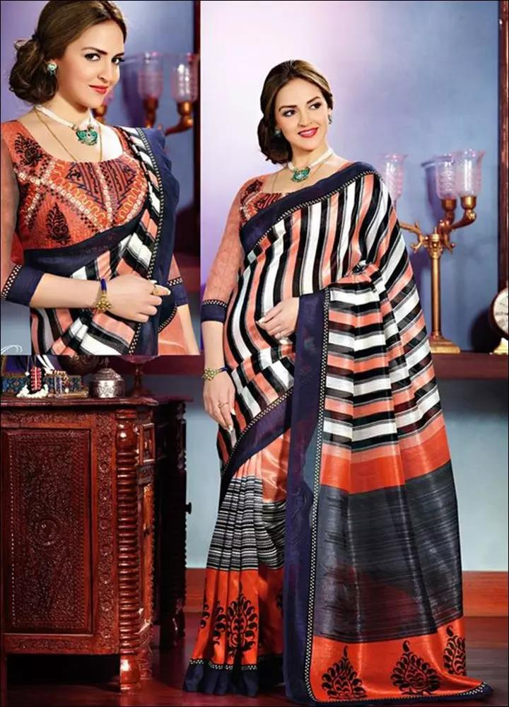 Multi-color-Blouse-Designs-For-Silk-Sarees
