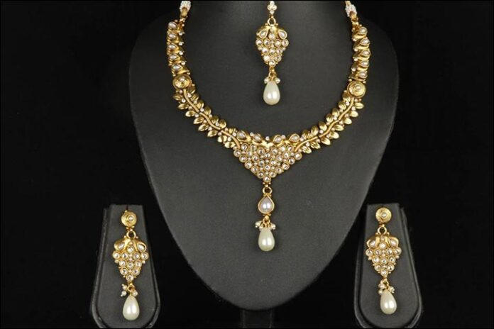 Pearl-Gold-Set
