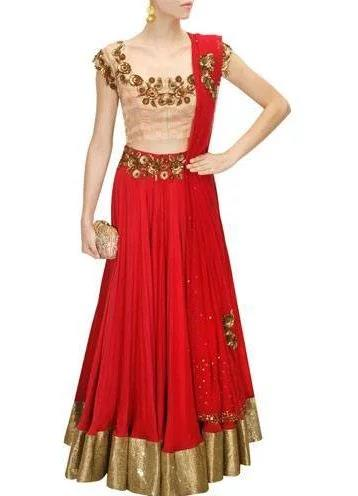 Pink-and-red-floral-sequins-embroidered-lehenga