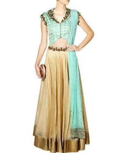 Sea-green-and-gold-floral-sequins-embroidered-lehenga