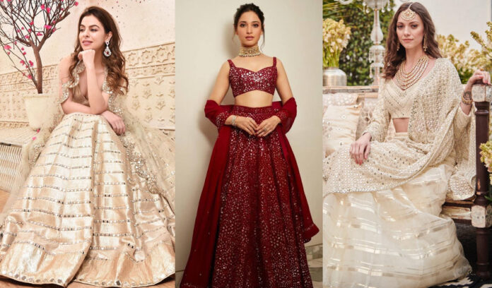 bridal-mirror-work-lehengas-choli-looks-for-women
