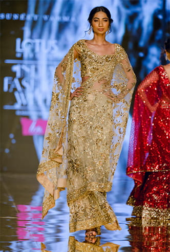 embroidered-sheer-gold-saree