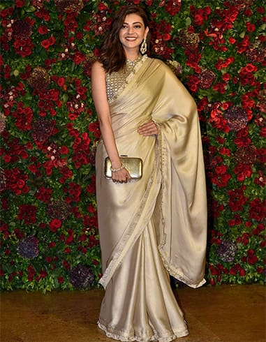 gold-metallic-saree