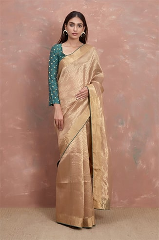 handwoven-gold-saree