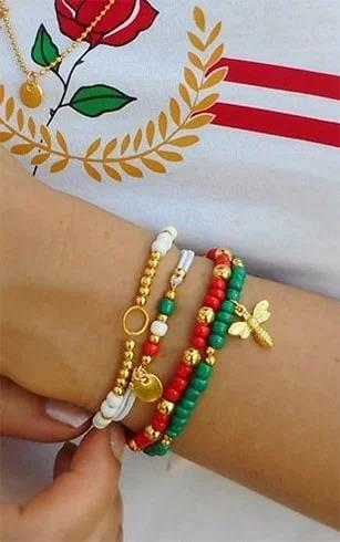 multi-colored-bracelet