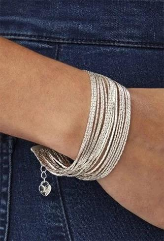 silver-plated-multi-row-bracelet