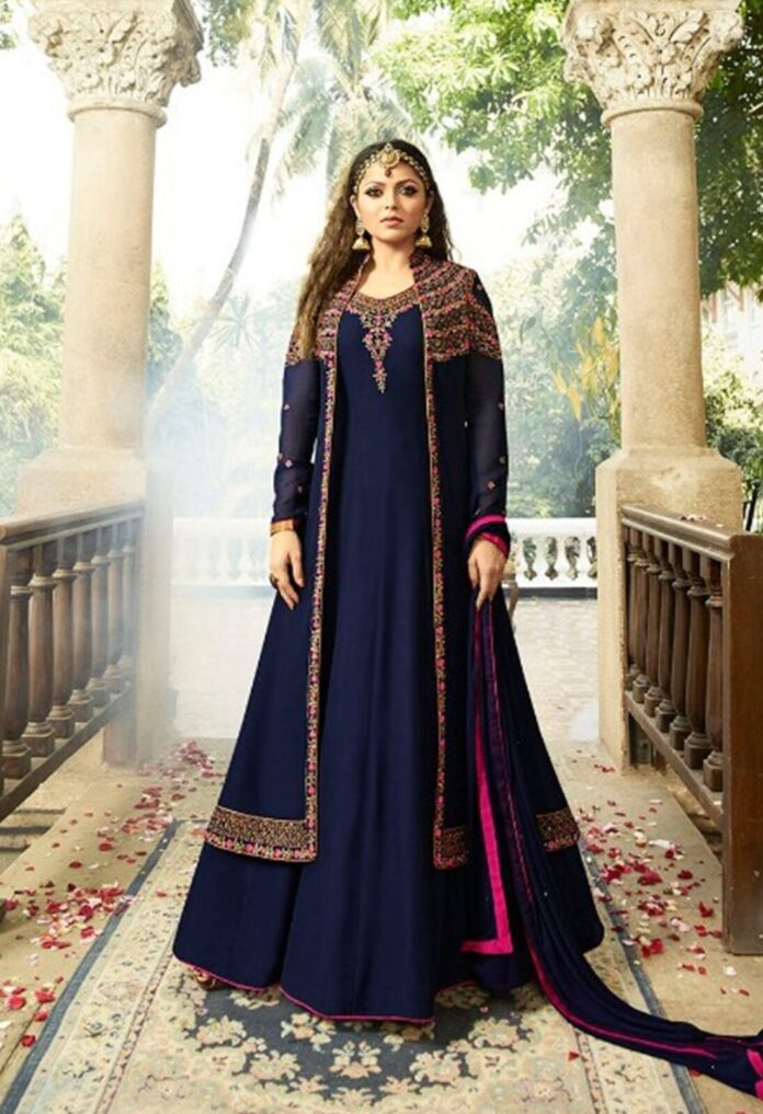 traditional-glowing-blue-anarkali