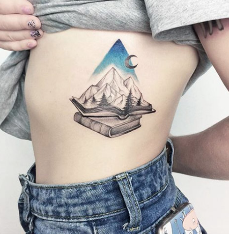 Book-Ish Nature tattoos for girls