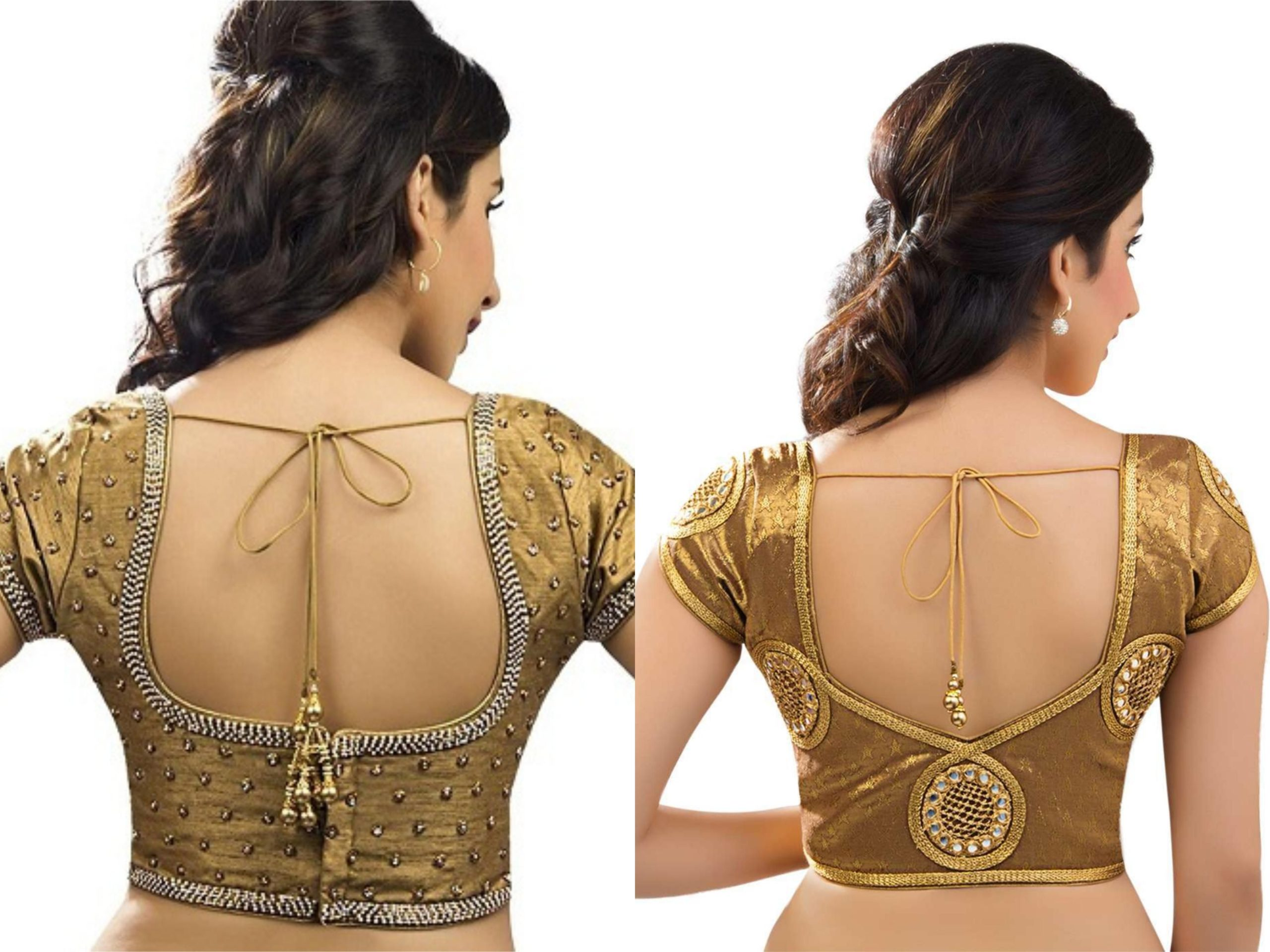 35 Indian Blouse Back Neck Designs For Women 2020 Women Fashion Blog