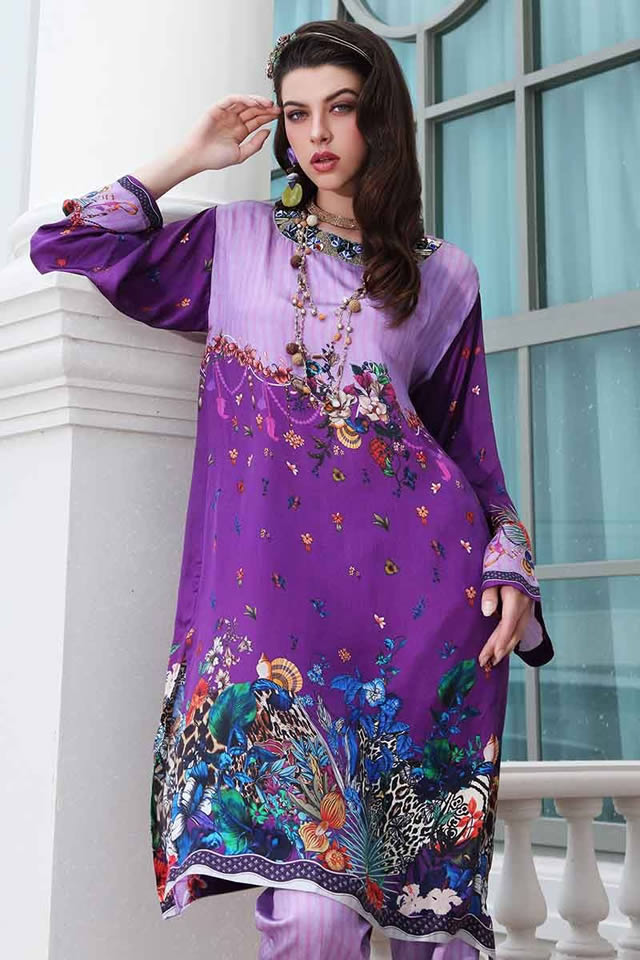 Gul-Ahmed-Digital-Silk-dresses-2019