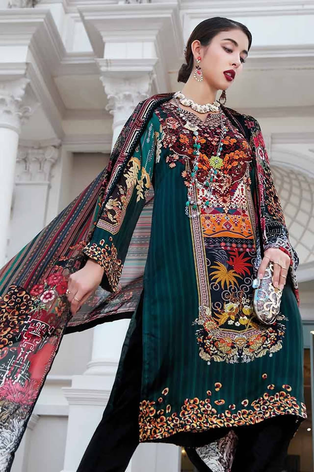 Gul-Ahmed-Silk-dresses-collection