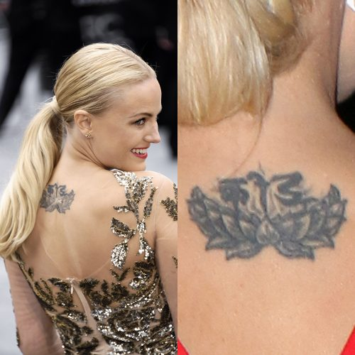 Malin Akerman Tattoos