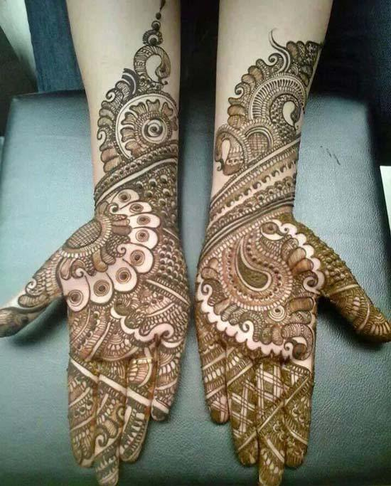 25 Best Arabic Mehndi Designs For Full Hands Images 2020 Women Fashion Blog
