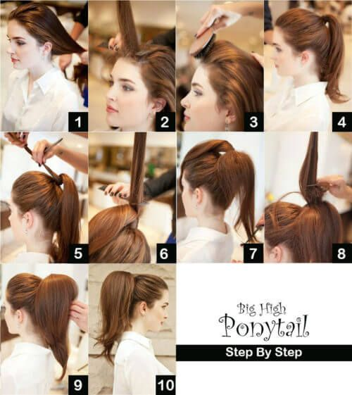 high-ponytail-with-puff-step-by-step