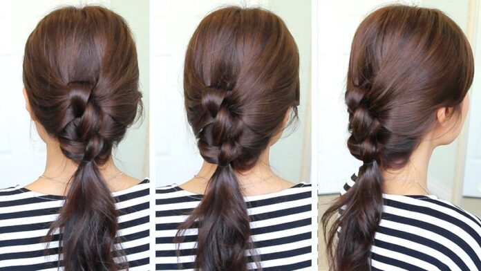 knotted-ponytail-hairstyles