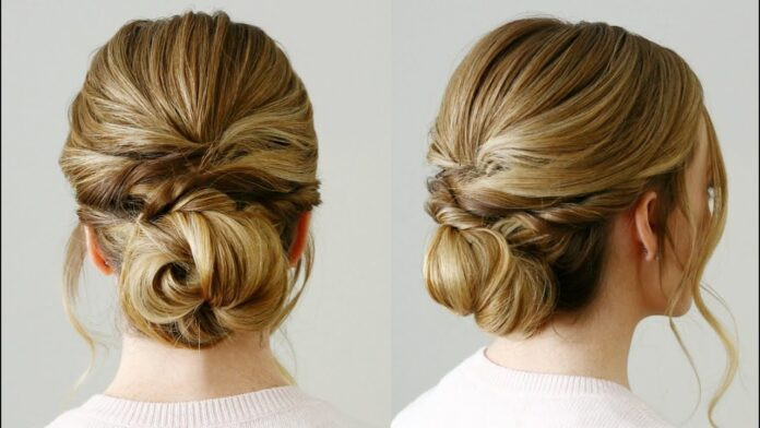 low-knot-hairstyles