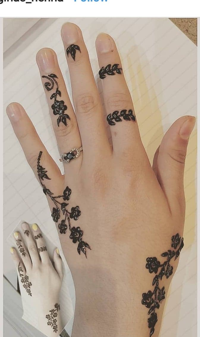 Easy and Simple Mehndi Designs for Hands Images 2021 ...