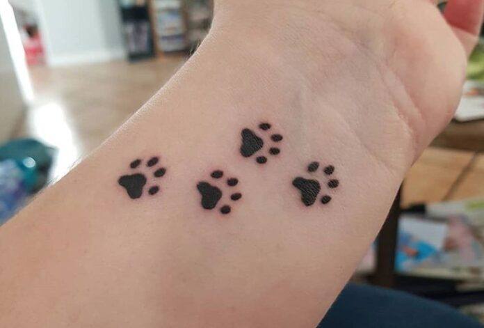 paws-tattoo-on-wrist