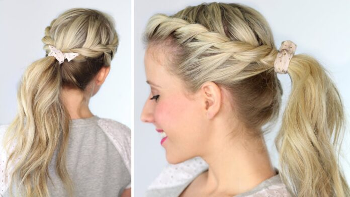 ponytail-hairstyles-using-a-twist