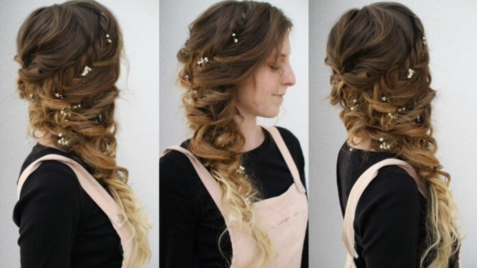 side-swept-curly-braided-style