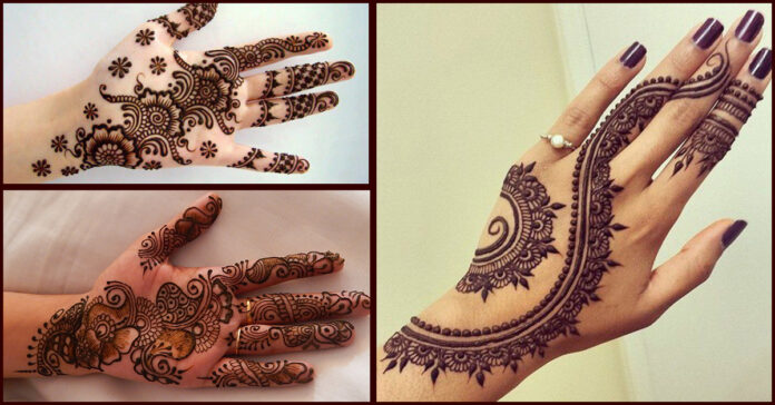 Easy and Simple Mehndi Designs for Hands 2020 Images