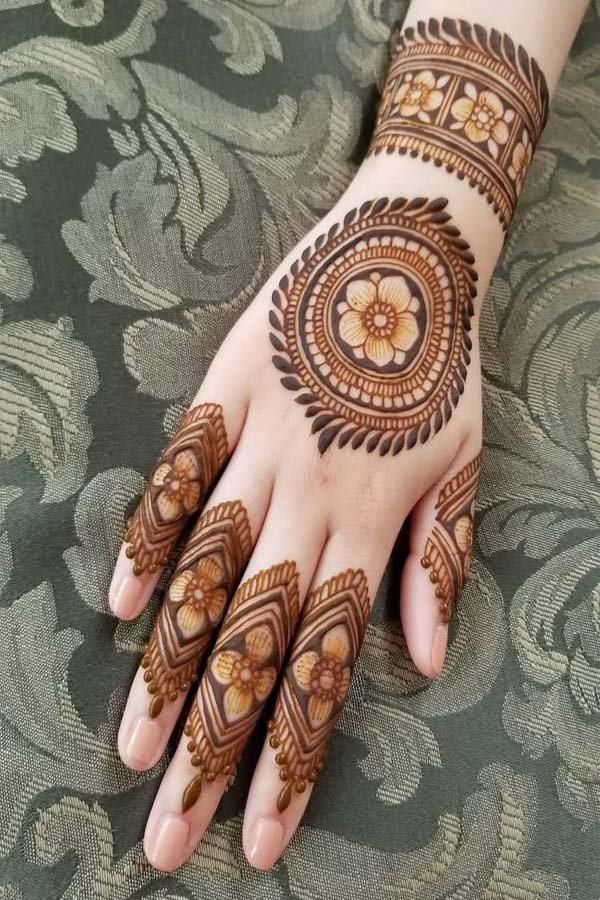 Easy And Simple Mehndi Designs For Hands Images 2020 Women