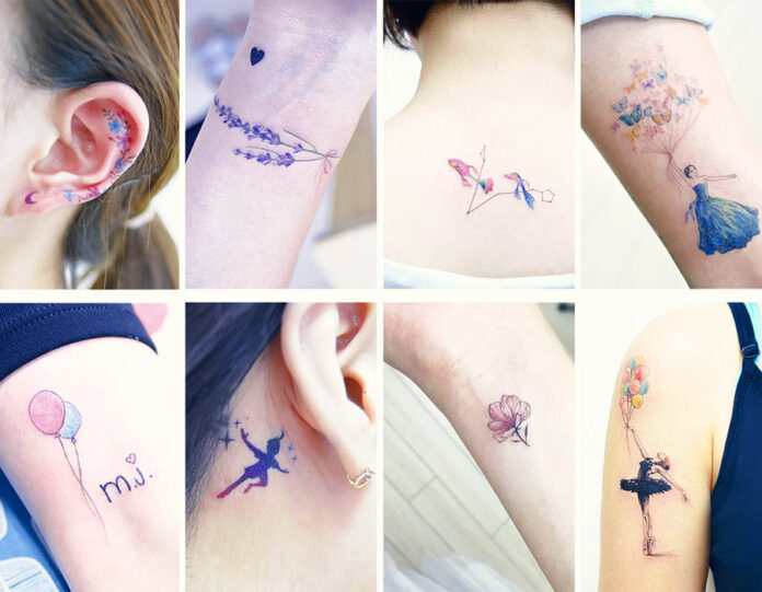 stylish-tattoos-for-girls-2020-on-hand-wrist-shoulder