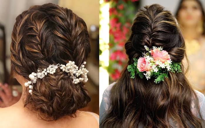 Accessorized Plait Hairstyles