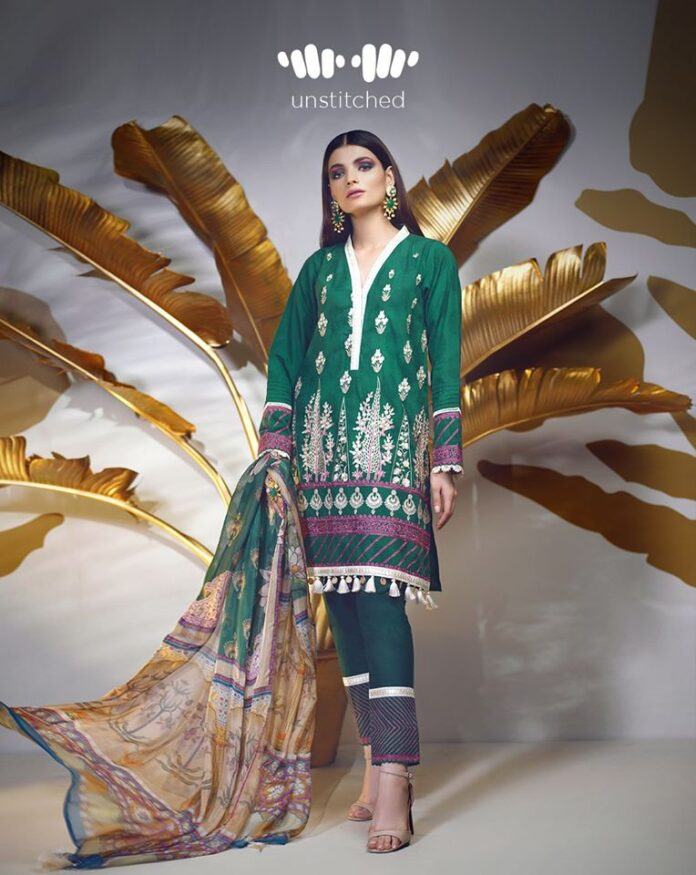 Khaadi Embroidered 2020 Winter Dresses